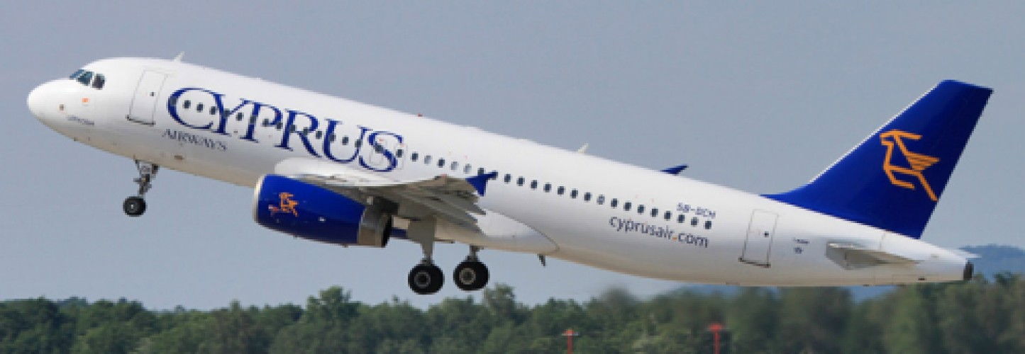 Airlines to and from Cyprus