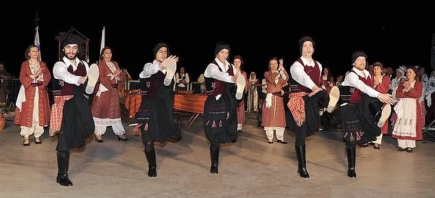 Cypriot Folk dancing