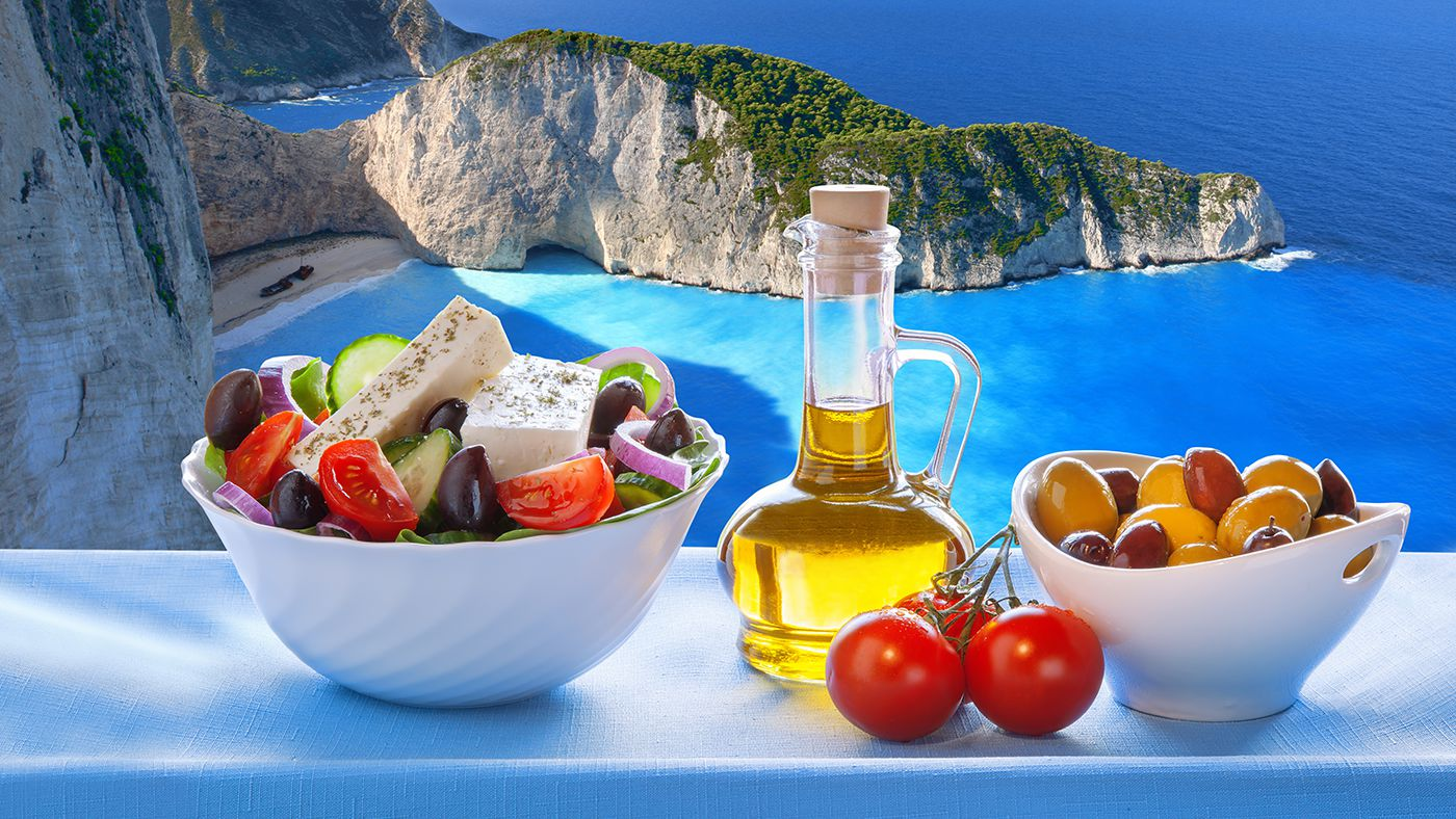 The Benefits of a Mediterranean Diet